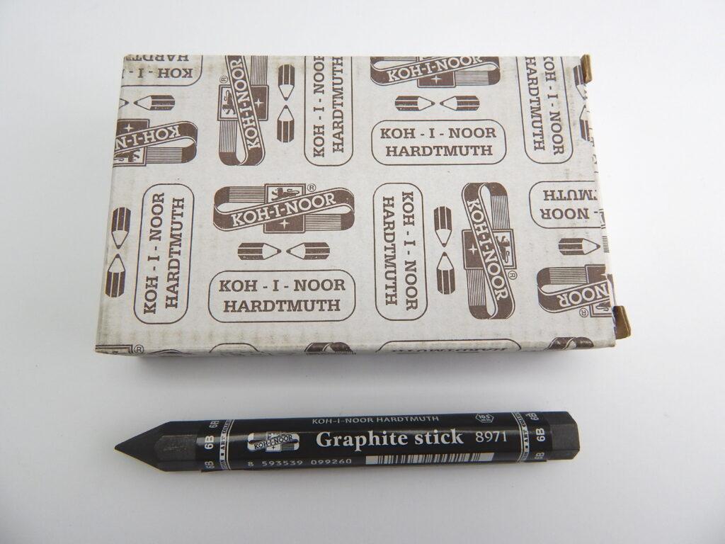 Tužka 8971 6B grafitová v laku