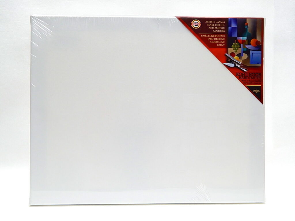 Dřevěný rám s plátnem 20 x 30 cm