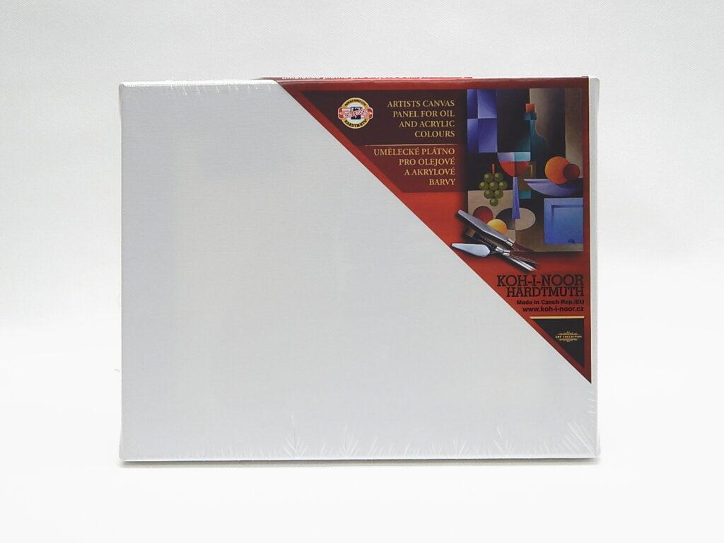 Dřevěný rám s plátnem 24 x 30 cm