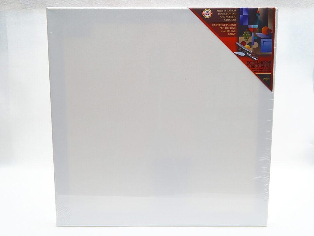Dřevěný rám s plátnem 50 x 50 cm