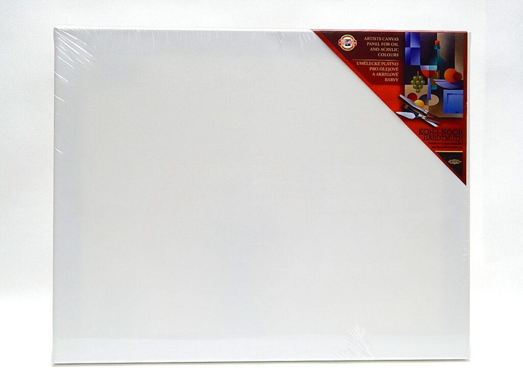 Dřevěný rám s plátnem 50 x 70 cm