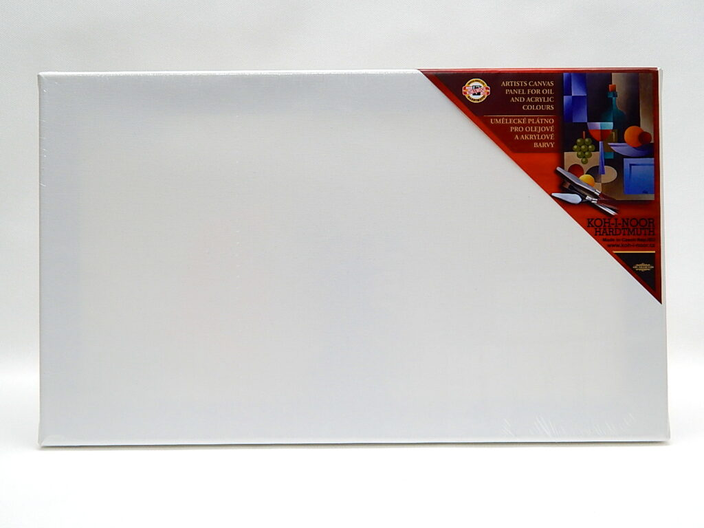 Dřevěný rám s plátnem 50 x 100 cm