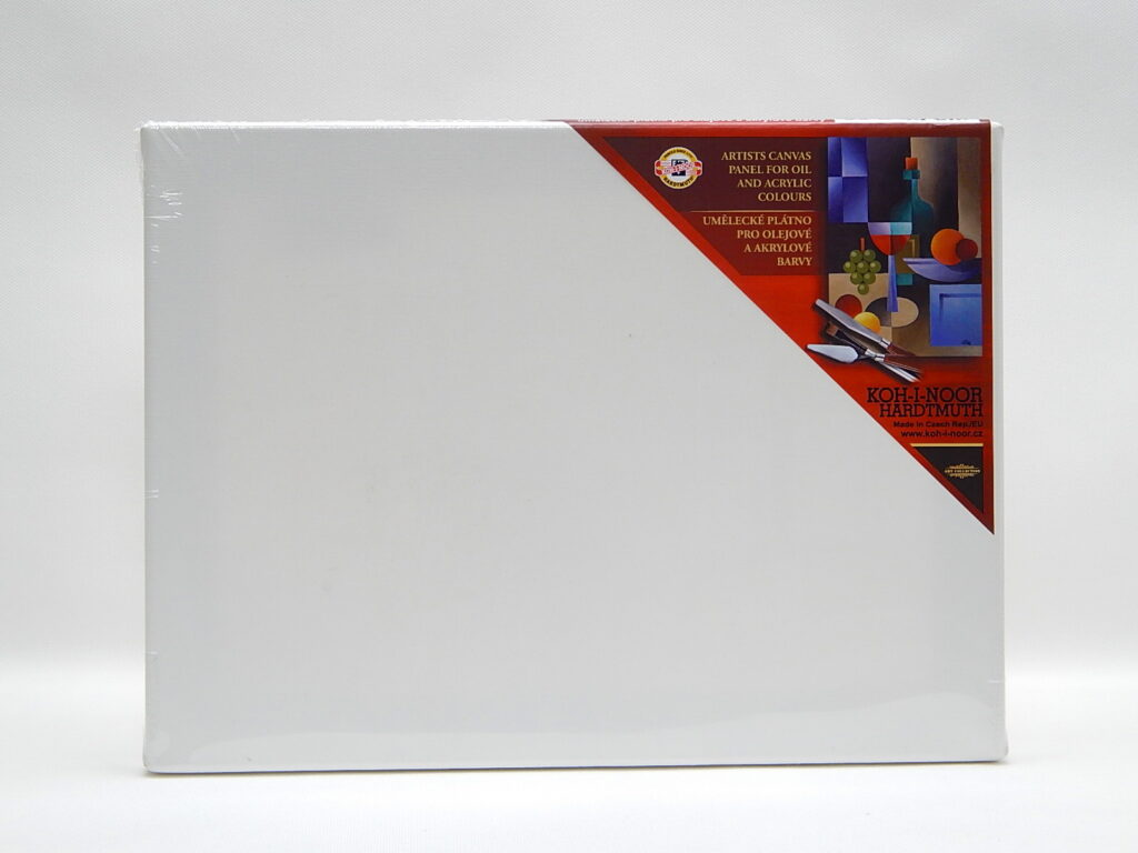 Dřevěný rám s plátnem 60 x 70 cm