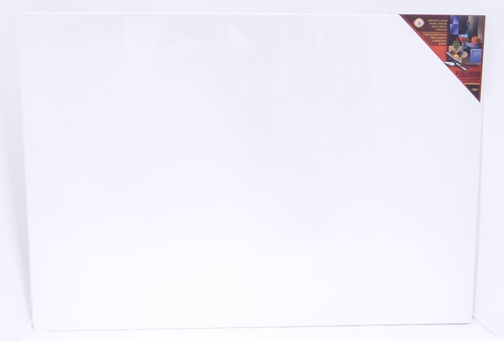 Dřevěný rám s plátnem 70 x 100 cm
