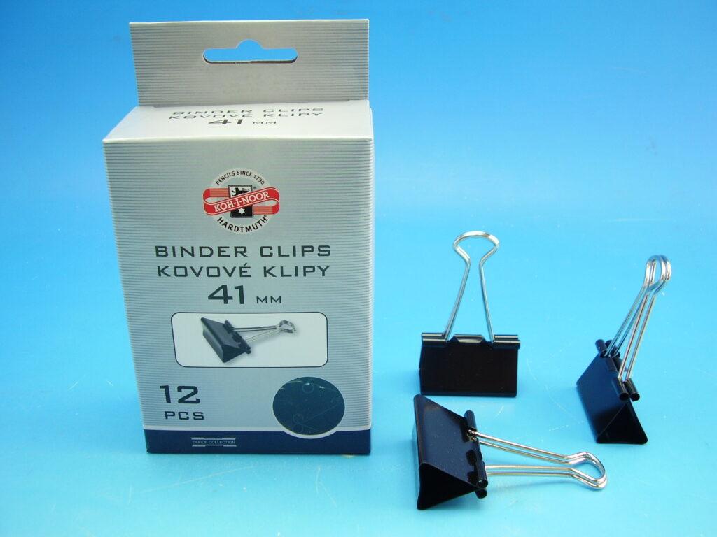 klipy kovové 41 mm