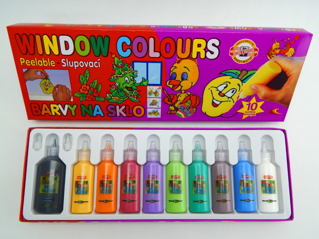 Barvy 9740/10 WINDOW na sklo