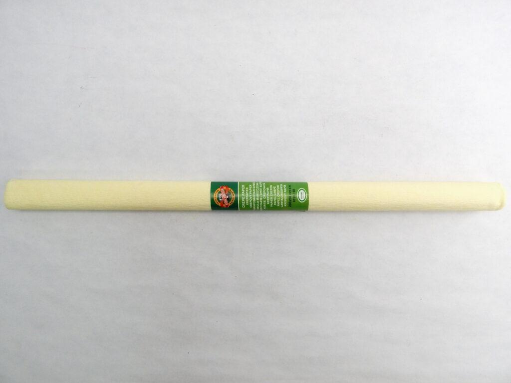 Papír krepový 9755/8 sv.žlutý