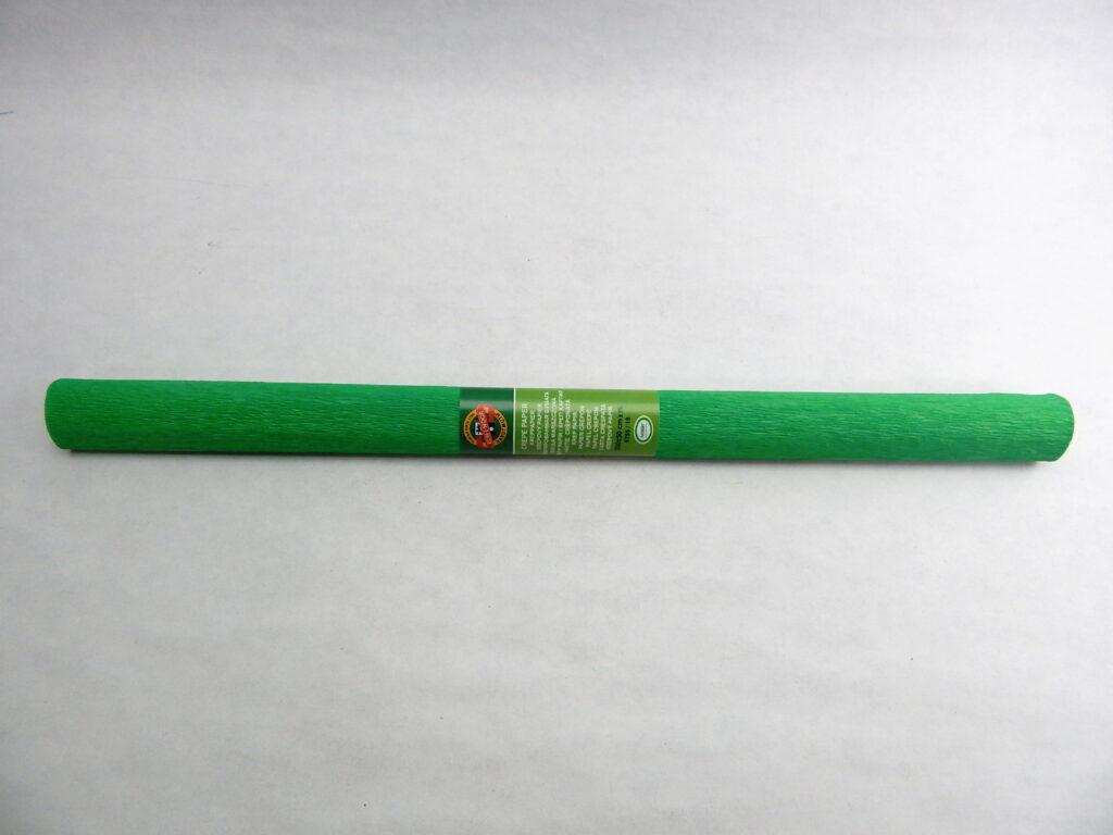Papír krepový 9755/18 zelený
