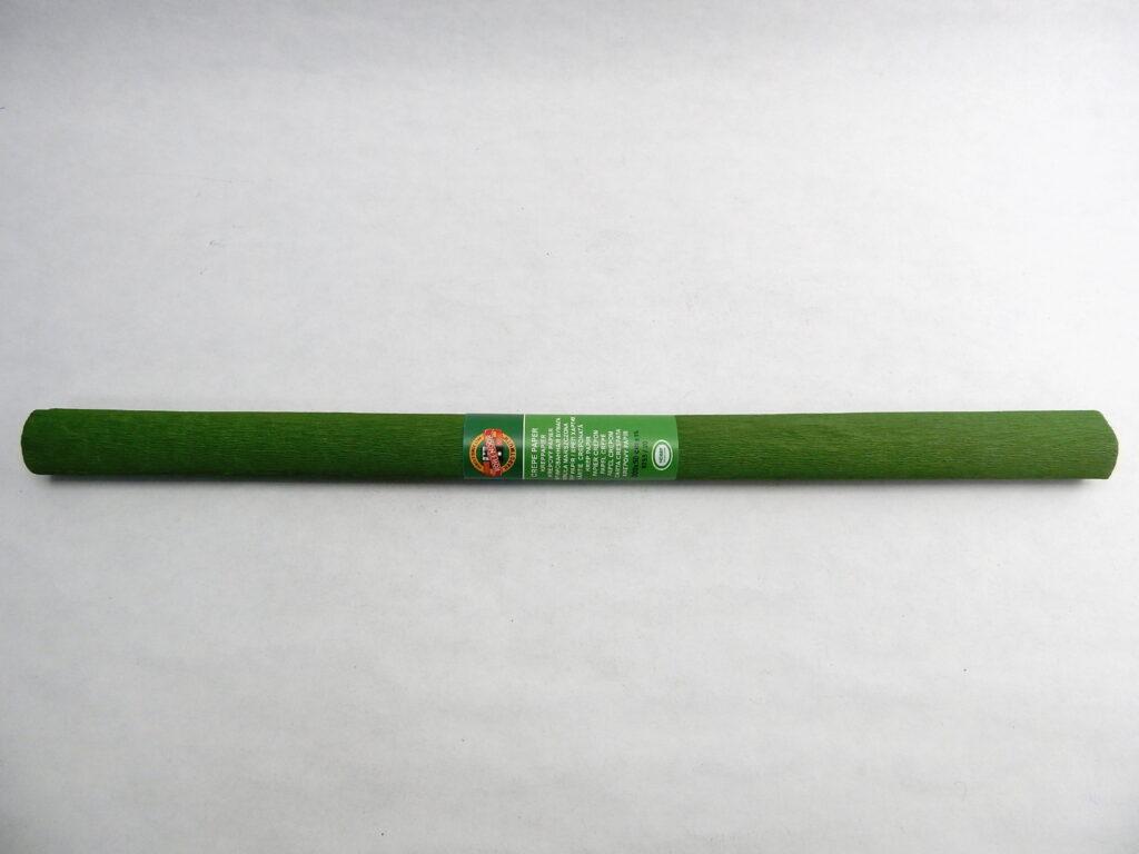 Papír krepový 9755/20 zelený