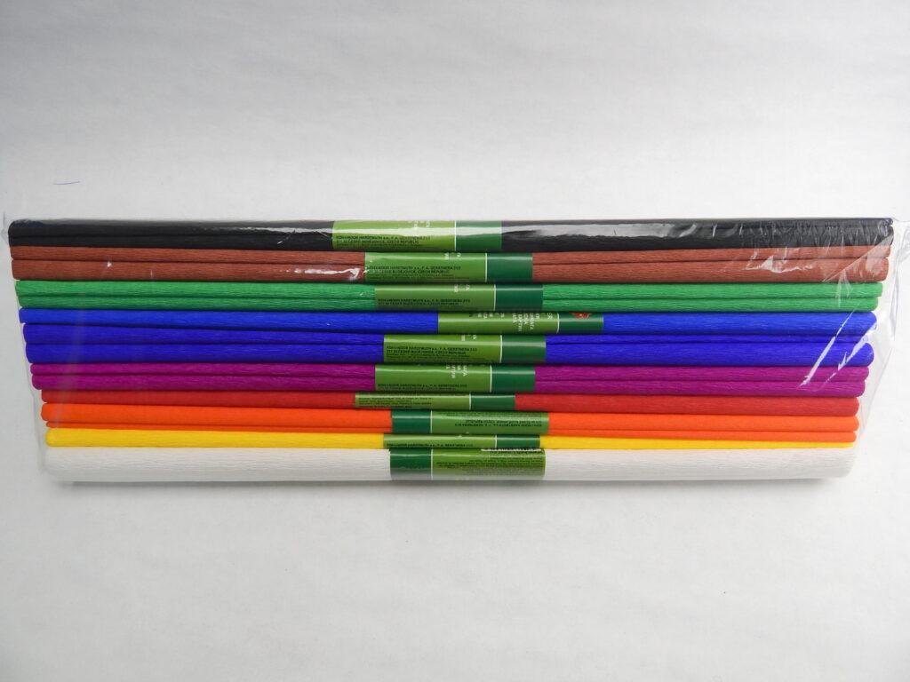 Papír krepový 9755/CLASIC MIX