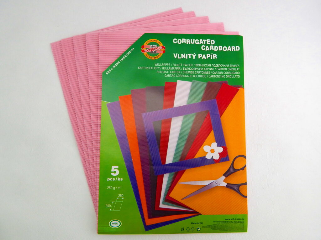 Vlnitý papír 9758 – růžový  776