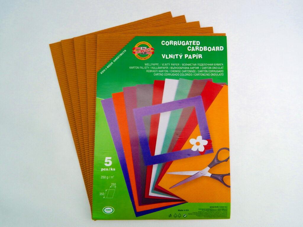 Vlnitý papír 9758 – béžový  761