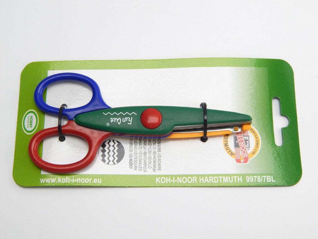 Nůžky 997807 13.5cm dekorační /CP21/