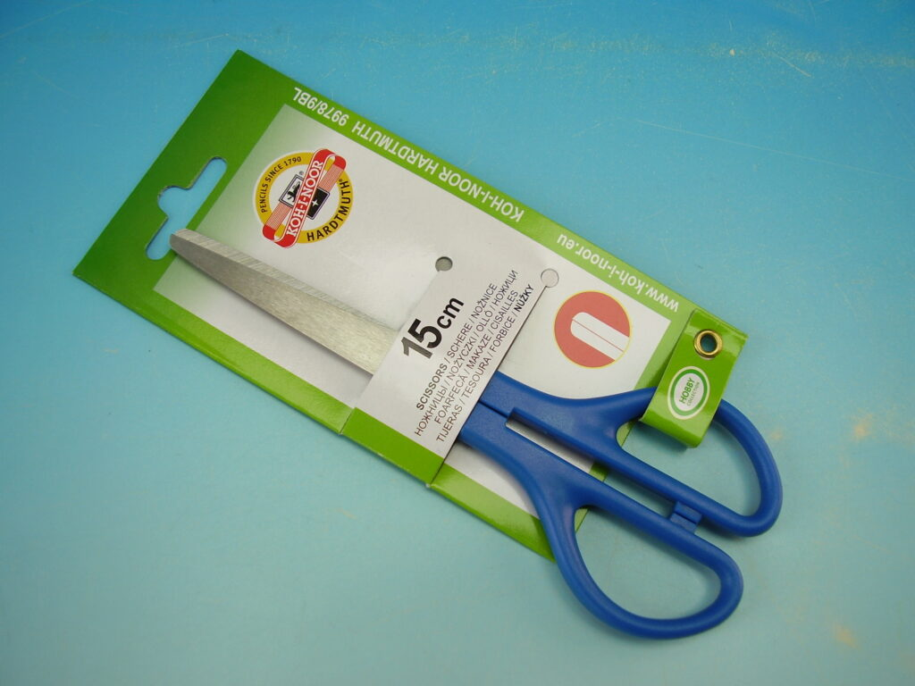 Nůžky 997809 15cm dětské na blistru /B90
