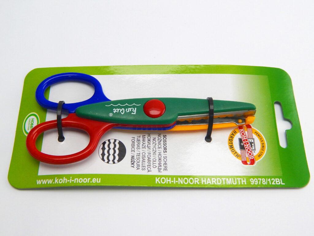 Nůžky 997812 13.5cm dekorační /CP23/